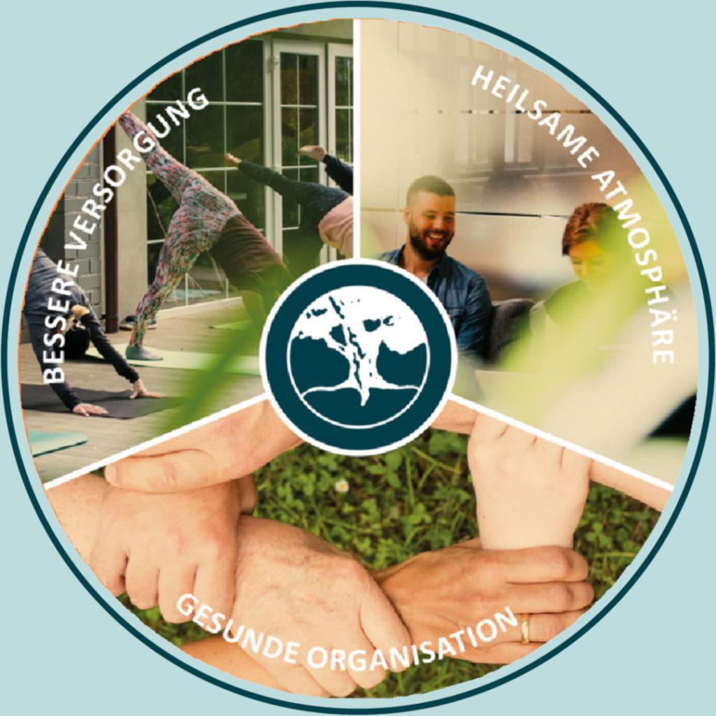 Der Planetree Kreislauf: Bessere Versorgung, Heilsame Atmosphäre, Gesunde Organisation